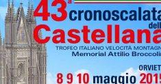 Iscrizioni aperte alla 43ª Cronoscalata della Castellana a Orvieto