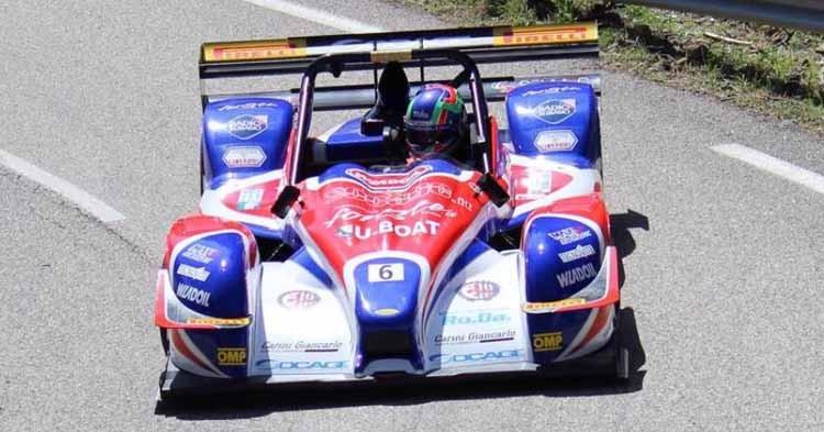 Simone Faggioli e la Sport Made in Italy a caccia del tris nella 44ª Subida al Fito