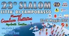 Domenica la 23ª edizione dello Slalom di Campobasso – Memorial Gianluca Battistini