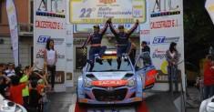 Corrado Fontana ancora primo al Rally Internazionale del Taro rimane leader assoluto dell'IRC Cup Pirelli 2015