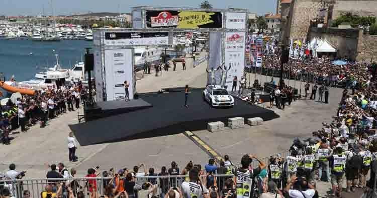 Si accendono i motori al Rally Italia Sardegna