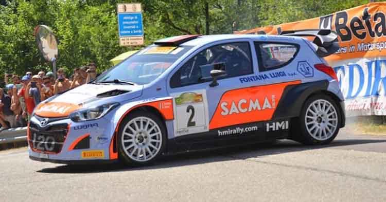 Fontana – Arena su Hyundai i20 WRC vincono il 35° Rally del Casentino