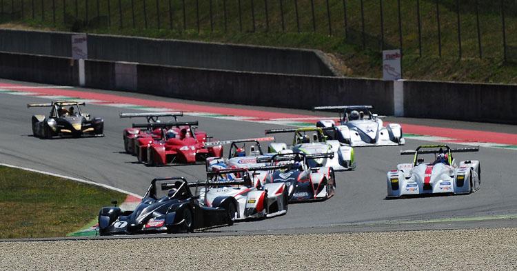 Iniziato al Mugello lo spettacolo del 5° Aci Racing Weekend 2015