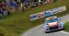 Il 21° rally Valli Cuneesi ha concluso l'International Rally Cup Pirelli 2015