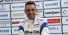 Christian Merli in gara nella 17ª Cronoscalata del Reventino
