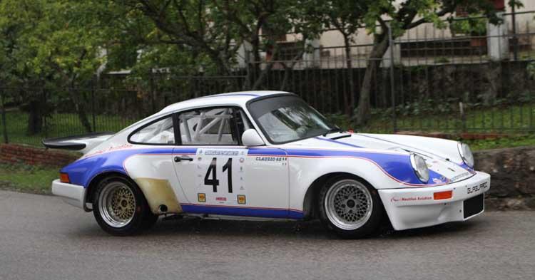 """La Cronoscalata del Santuario è di """"Claudio 65"""" su Porsche"""