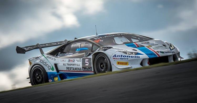 Il Team Antonelli Motorsport a Sebring per le finali mondiali Lamborghini