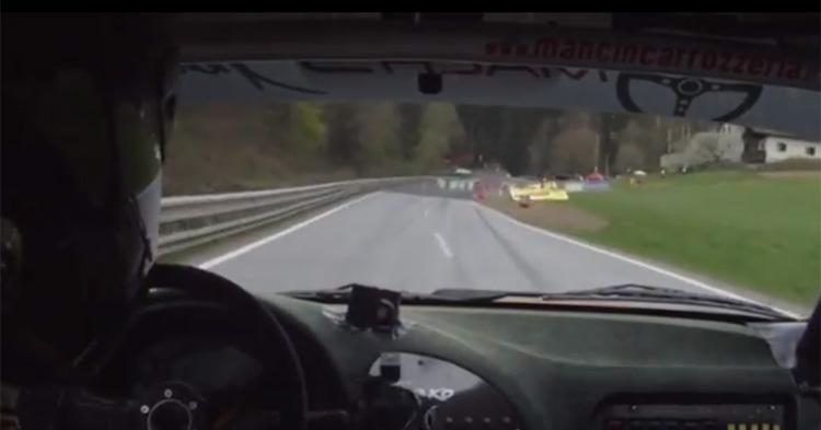 Cameracar di Michele Mancin alla Rechberg Rennen 2015