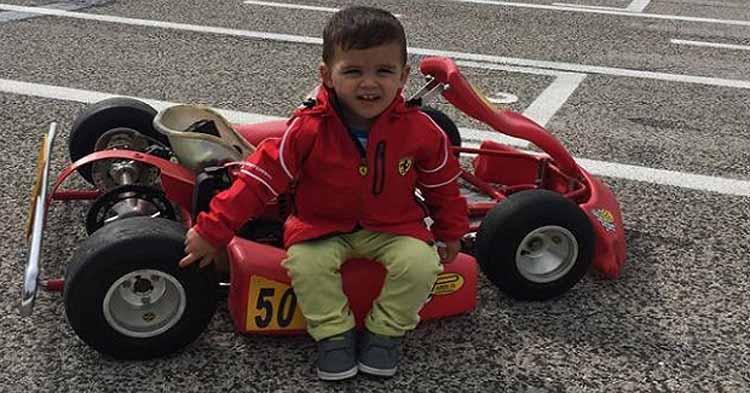 Salvatore Iavarone il pilota più piccolo del mondo