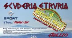 Aperte le iscrizioni al 6° Historic Rally Vallate Aretine