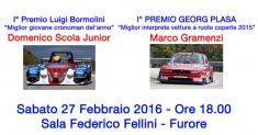 1° Premio Luigi Bormolini e Georg Plasa