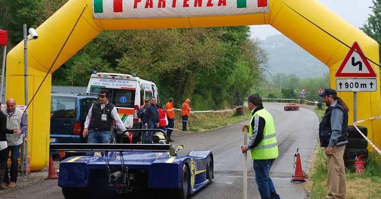 Prende il via a Montefiascone il Campionato Italiano Velocità Salita Autostoriche