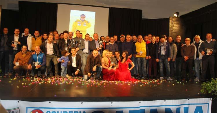 La Catania Corse ha premiato i suoi campioni 2015