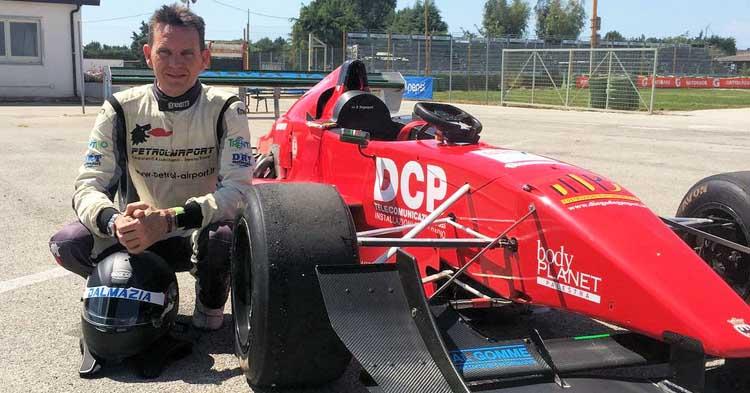 Con i test a Battipaglia stagione al via per Diego Degasperi e la sua Lola Honda