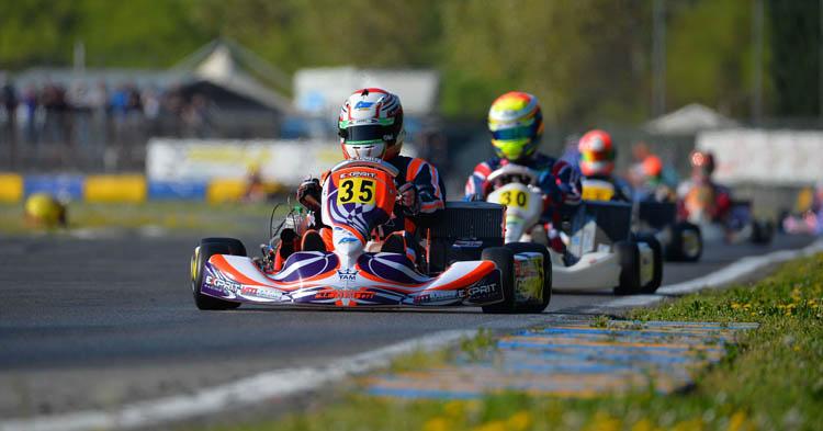 Il Campionato Italiano Karting vola sopra quota 200 piloti a Castelletto