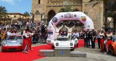 CIR Auto Storiche Erik Comas e Yannick Roche dominano la 100 TH Targa florio Historic Rally