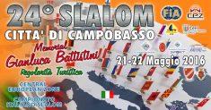 Più di novanta i piloti iscritti al 24° Slalom Città di Campobasso