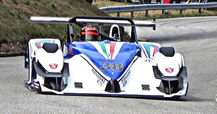 Saranno 5 i piloti Speed Motor alla 47ª Cronoscalata Verzegnis-Sella Chianzutan
