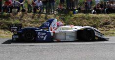 Christian Merli e la sua Osella FA30 presenti nella gara di casa, la 66ª Trento Bondone