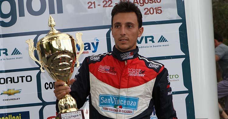 Domenico Scola alla Morano Campotenese su Lola della CMS Racing Cars