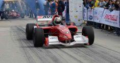 Francesco Michea Carini con la Formula 3000 alla 54ª Svolte di Popoli