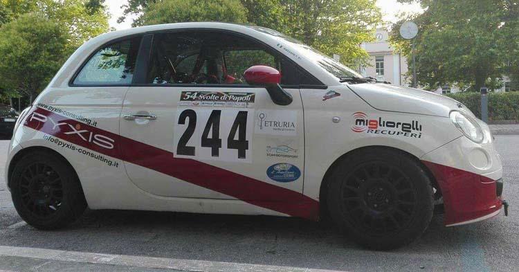 L'A.S.D. X Car Motorsport, prenderà il via alla 51ª edizione del Trofeo Luigi Fagioli che si disputerà a Gubbio