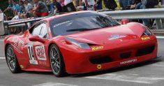 Luca Gaetani in gara a Gubbio nel 51° Trofeo Luigi Fagioli