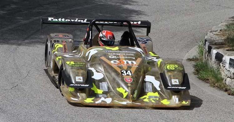 12 portacolori per la scuderia Speed Motor all'appuntamento con la gara di casa