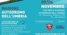 La Scuderia Speed Motor in aiuto delle popolazioni terremotate dell'Italia centrale