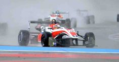 Shlom vince all'esordio in F3 nel diluvio di Le Castellet