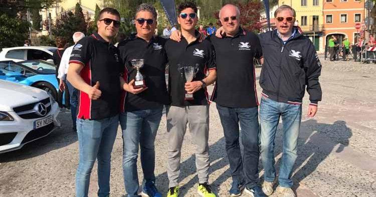 Debutto sul podio per l'Asd X Car Motorsport alla Salita del Costo
