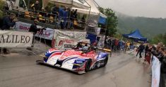 Prove sotto la pioggia al 27° Trofeo Lodovico Scarfiotti