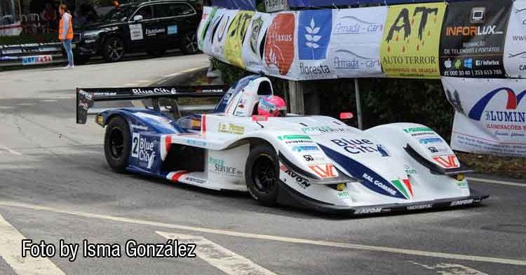 Christian Merli secondo assoluto alla 38ª Rampa Internacional da Falperra in Portogallo