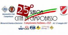 Prime iscrizioni per il XXV Slalom Città di Campobasso- Memorial Gianluca Battistini