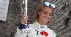 Esordio nel Campionato Italiano Velocità Montagna 2017 a Sarnano per Rachele Somaschini