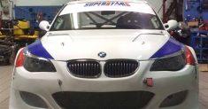 Giuliano Tavani su BMW 550 al Trofeo Scarfiotti
