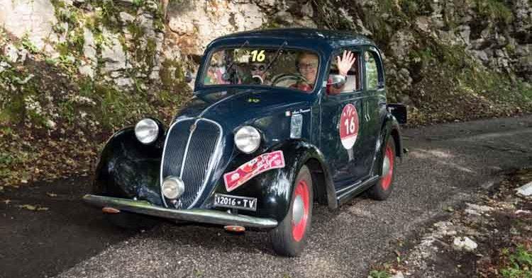 Mario Passanante e Raffaella De Alessandrini portano al successo al loro Fiat 508C del 1938
