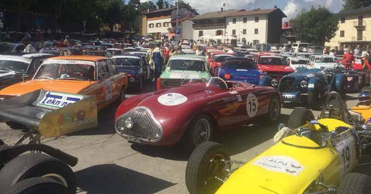 Rombano i motori alla 30ª Limabetone Storica Trofeo Fabio Danti