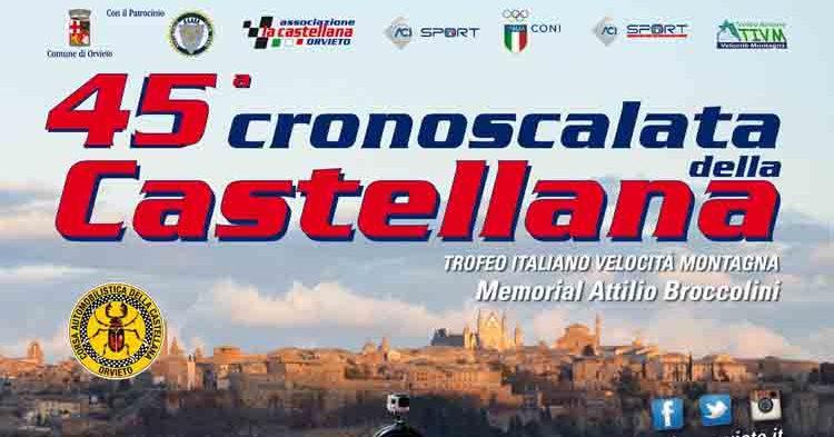Lunedì stop alle iscrizioni della 45ª Cronoscalata della Castellana