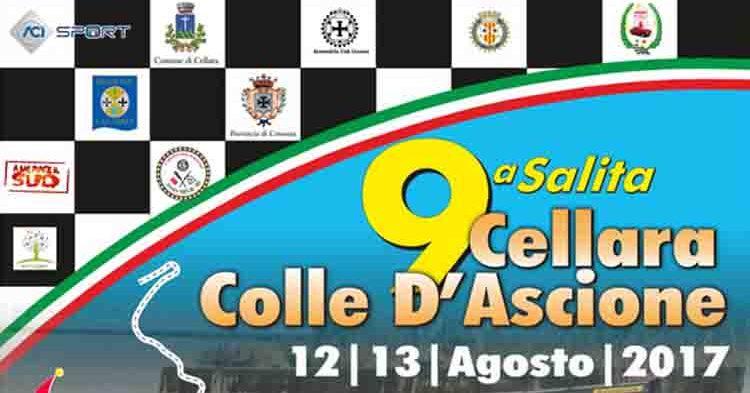 Domani le prove della 9ª Salita Cellara Colle d'Ascione