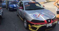 Giovanni Grasso e la sua Seat Ibiza TDI conquistano una splendida vittoria di classe alla 55ª Cronoscalata Svolte di Popoli