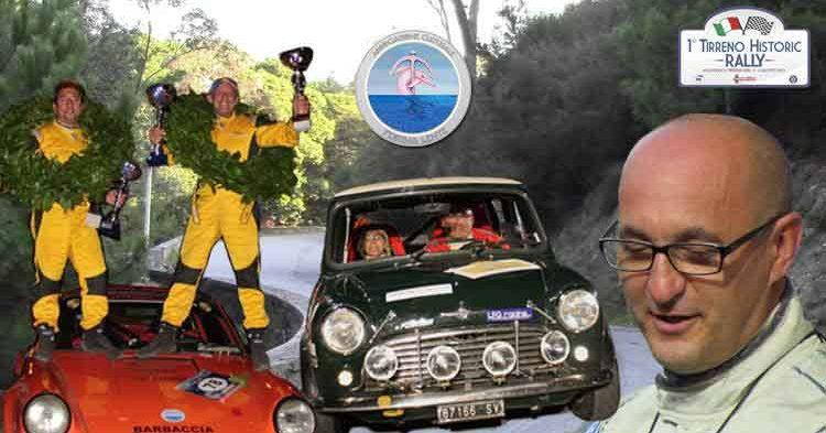 La AC Festina lente con due equipaggi al 1° Historic Rally del Tirreno coordinati dal DS Giacomo Giannone