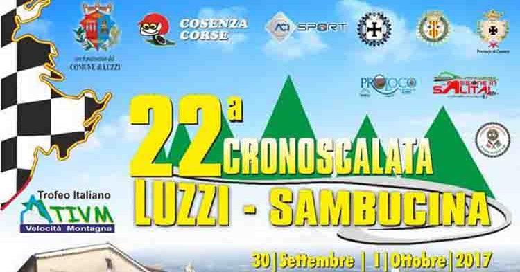 Con le prove di oggi parte la 22ª Luzzi-Sambucina