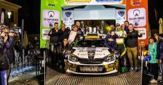 Luca Rossetti domina il  61° rally Coppa Valtellina e si aggiudica il titolo International Rally Cup Pirelli 2017