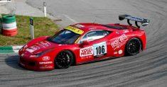 Luca Gaetani vincitore  del gruppo GT alla 35ª Pedavena – Croce D'Aune