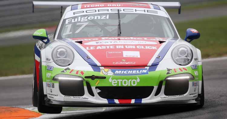 Fulgenzi conquista il terzo posto della Porsche Carrera Cup Italia