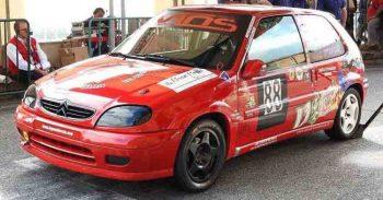 Alla Speed Motor arriva Vincenzo Ottaviani con la Citroen Saxo nella classe 1600 del Gruppo N