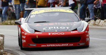 Roberto Ragazzi su Ferrari ha vinto la GT Cup in CIVM