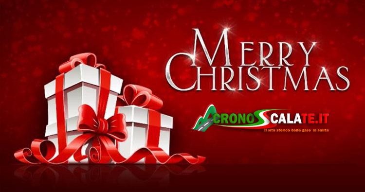 Buon Natale da parte di Cronoscalate.it