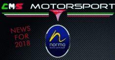 CMS Racing Cars e Norma Auto Concept insieme nel 2018